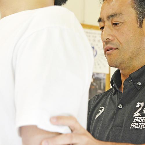 スポーツ医学、運動生理学をもとに体系的な施術を行う